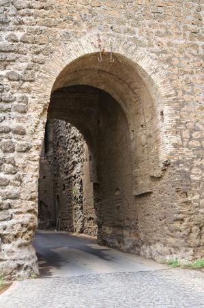 Castello dei Borgia. Nepi. Lazio. Italia. Archivio Fotografico - 15991721