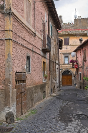 Alleyway. Nepi. Lazio. Italy. Stock Photo - 15991738