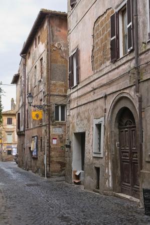 lazio: Alleyway. Nepi. Lazio. Italy.