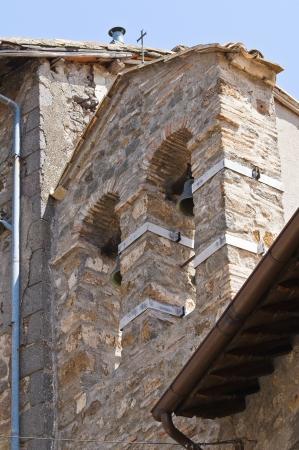 etrurian: Historical church. Soriano nel Cimino. Lazio. Italy.