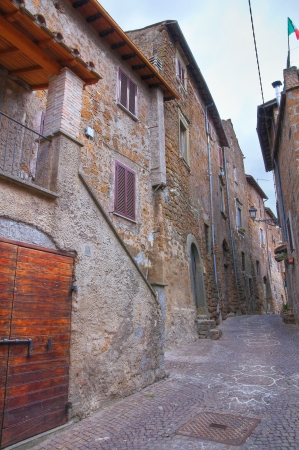 Alleyway. Sutri. Lazio. Italy. Stock Photo - 15991727