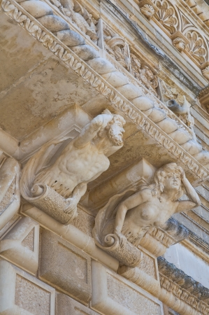 Acquaviva castle. Nard�. Puglia. Italy. Stock Photo - 16078014