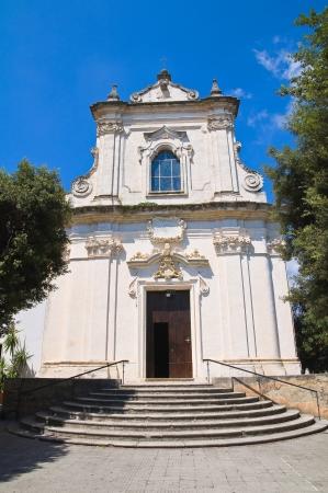 francesco: Church of St. Francesco da Paola. Nard�. Puglia. Italy. Stock Photo