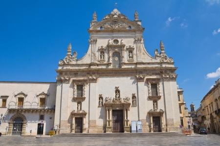 Mother church  Galatina  Puglia  Italy   Imagens