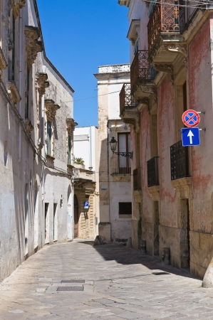 Alleyway  Galatina  Puglia  Italy   photo