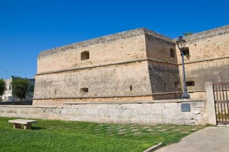 Castle of Copertino. Puglia. Italy.  Stock Photo - 16152234