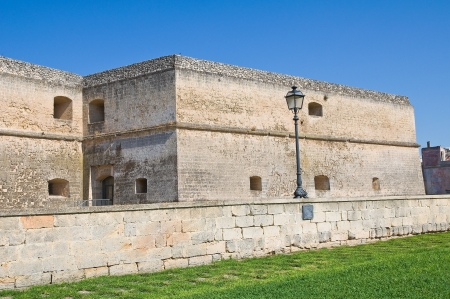 Castle of Copertino. Puglia. Italy.  Stock Photo - 16152230