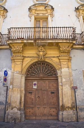 Santorenzo-Bardoscia palace  Galatina  Puglia  Italy  Stock Photo - 16152217