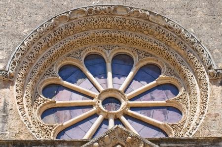 Basilica of St. Caterina. Galatina. Puglia. Italy. Imagens - 16160547