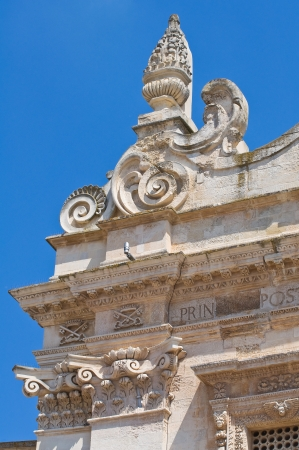 Mother church. Galatina. Puglia. Italy.  photo