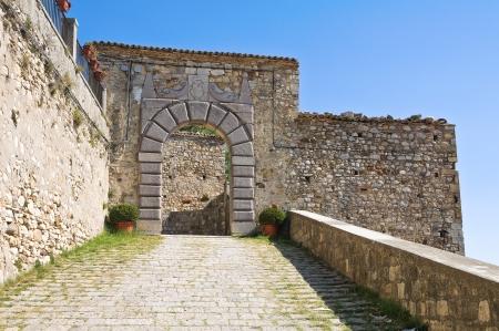 daunia: Castle of Santagata di Puglia  Puglia  Italy