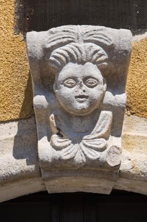 Historical palace  Santagata di Puglia  Puglia  Italy