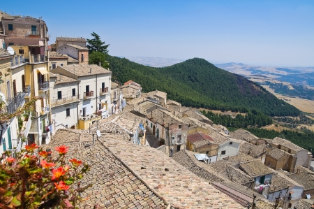 Panoramic view of Santagata di Puglia  Puglia  Italy Stock Photo - 16263466