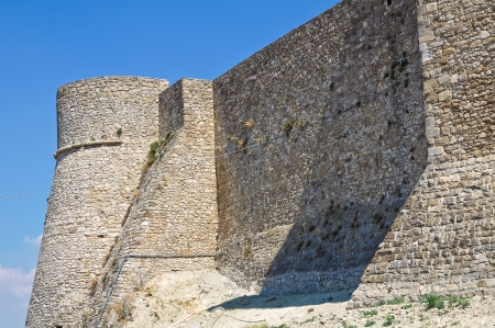 Norman swabian castle of Deliceto. Puglia. Italy. Stock Photo - 16348164