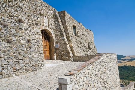 daunia: Norman swabian castle of Deliceto. Puglia. Italy.