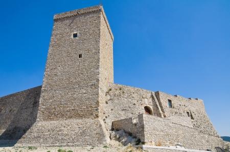 daunia: Norman swabian castle of Deliceto  Puglia  Italy