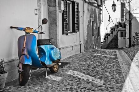 the cobblestones: Alleyway  Deliceto  Puglia  Italy