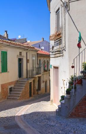foggia: Alleyway  Deliceto  Puglia  Italy