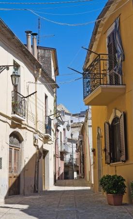 daunia: Alleyway  Deliceto  Puglia  Italy