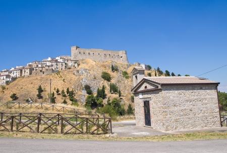 foggia: Panoramic view of Deliceto  Puglia  Italy