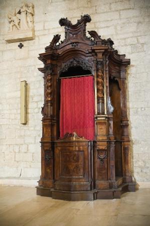 ecclesiastical: Cathedral of Troia. Puglia. Italy.