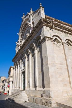 daunia: Cathedral of Troia. Puglia. Italy.
