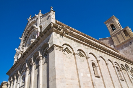 daunia: Cathedral of Troia. Puglia. Italy.