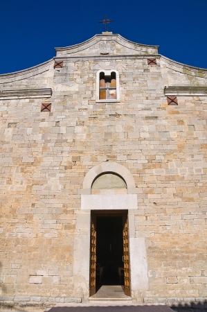 foggia: Basilica church of St. Basilio. Troia. Puglia. Italy.