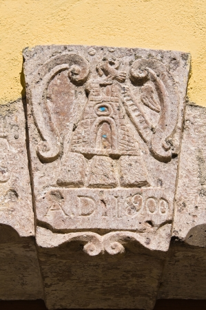 daunia: Historical palace. SantAgata di Puglia. Italy. Editorial