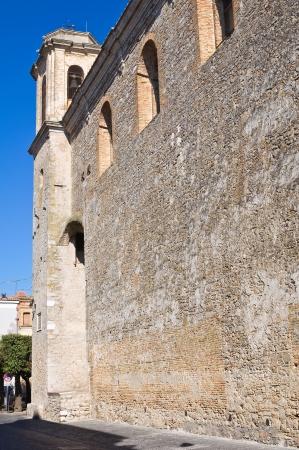 foggia: Church of St. Francesco. Troia. Puglia. Italy.