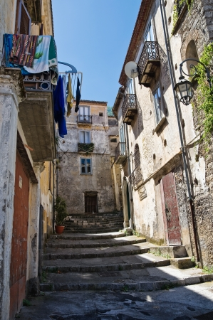 Alleyway. Maratea. Basilicata. Italy. photo