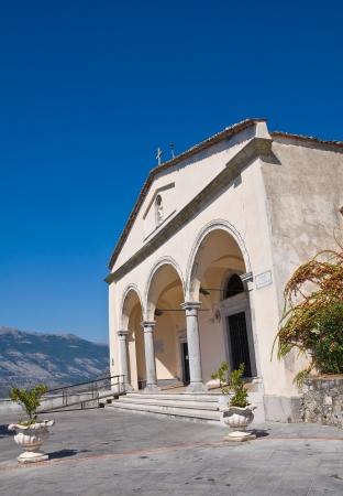 maratea: Basilica church of St  Biagio  Maratea  Basilicata  Italy  Stock Photo