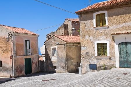 maratea: Alleyway  Maratea  Basilicata  Italy