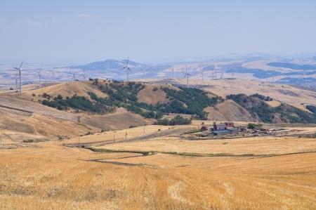 Panoramic view of Santagata di Puglia  Puglia  Italy  Stock Photo - 16347230