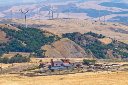 Panoramic view of Santagata di Puglia  Puglia  Italy Stock Photo - 16346773