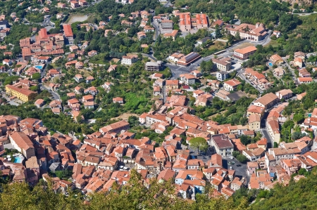 Panoramic view of Maratea  Basilicata  Italy   Stock Photo - 16451351