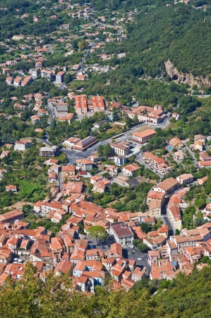 Panoramic view of Maratea  Basilicata  Italy   Stock Photo - 16451349