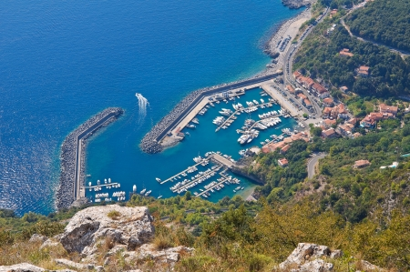 Panoramic view of Maratea  Basilicata  Italy   photo