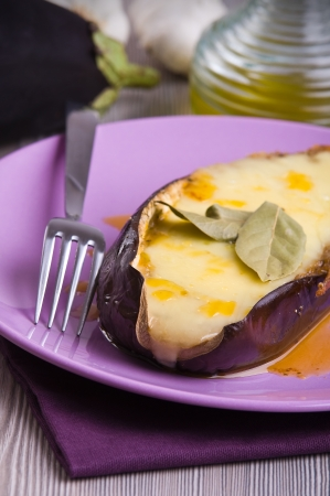 Stuffed eggplant   Stock Photo - 16451276