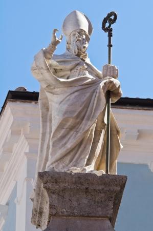 maratea: Column of St. Biagio. Maratea. Basilicata. italy.