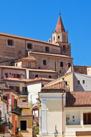 Panoramic view of Maratea. Basilicata. Italy.  Stock Photo - 16376211