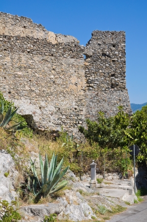 Castle of Scalea. Calabria. Italy.  Stock Photo - 16376222