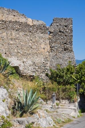 Castle of Scalea. Calabria. Italy.  Stock Photo - 16376222
