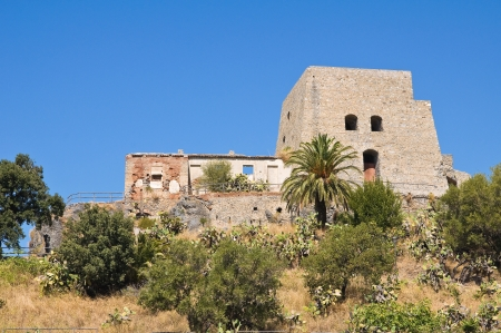 Talao tower  Scalea  Calabria  Italy   photo
