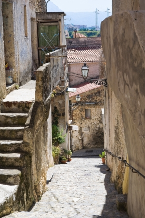 Alleyway  Scalea  Calabria  Italy   Stock Photo - 16451509