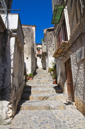 Alleyway  Scalea  Calabria  Italy   Stock Photo - 16451572