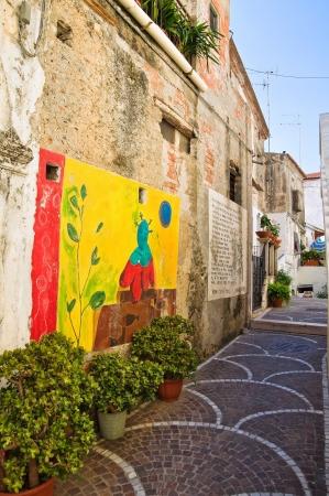 calabria: Alleyway. Diamante. Calabria. Italy.