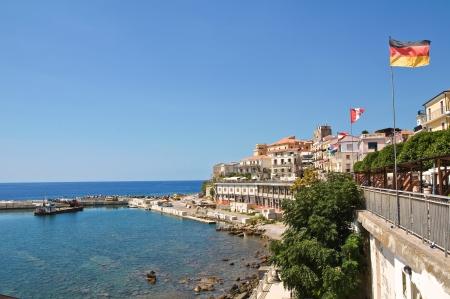 Panoramic view of Diamante. Calabria. Italy. Stock Photo - 16483882