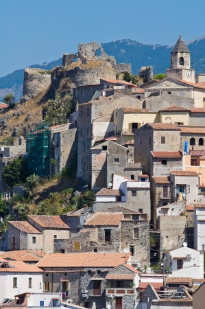 Panoramic view of Scalea. Calabria. Italy. Stock Photo - 16484169
