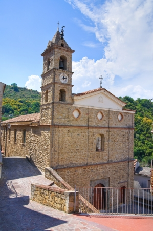 Mother church. Valsinni. Basilicata. Italy. Stock Photo - 16484173